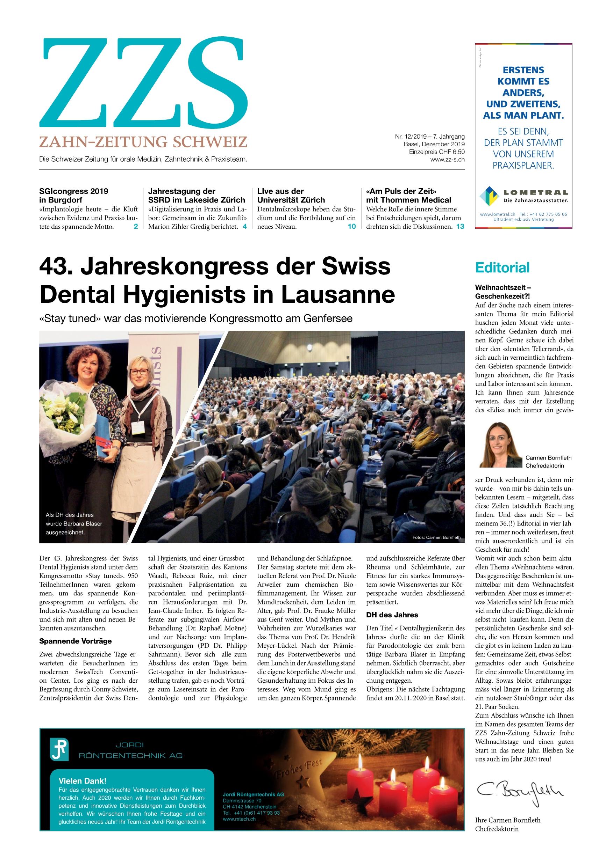 Zzs 122019 Zahn Zeitung Schweiz